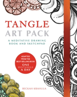 Tangle Art Pack A Meditative Drawing Book and Sketchpad