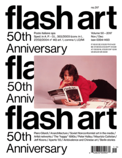 Magazyn Flash Art Vol. 50 Issue 317 Nov/Dec 2017