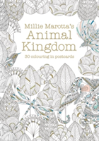 Millie Marotta's Animal Kingdom Postcard Book 30 beautiful cards for colouring in