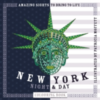 New York Night & Day Colouring Book